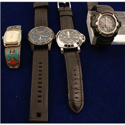 4 Men's Wrist Watches