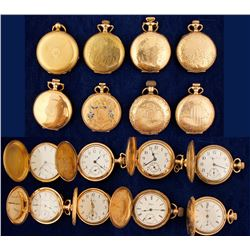8 Vintage Ladies Pocket Watches