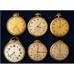 Group Vintage Men's Pocket Watches