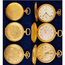 Three Ladies Pocket Watches