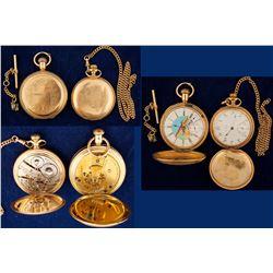 Vintage Waltham Men's Closed Pocket Watches