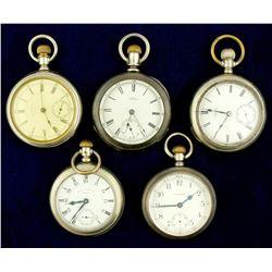 Vintage Waltham Pocket Watches