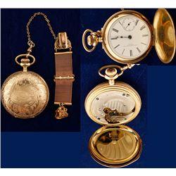Vintage New York Standard Watch Co. Pocket Watch