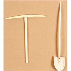 Cute Alaska Souvenir Shovel and Pick