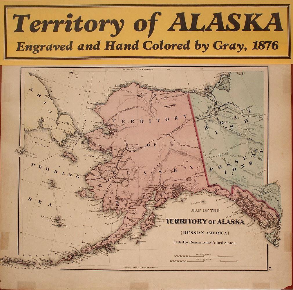 Map of Alaska (