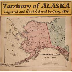 "Map of Alaska (""Russian America"")"