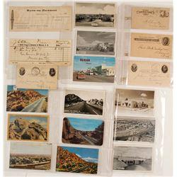 Benson, AZ Postcards and Ephemera