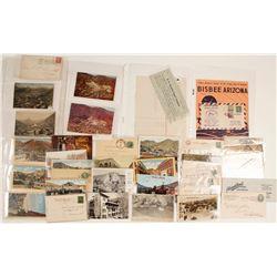Bisbee, AZ Postcards, Postal Covers and Ephemera