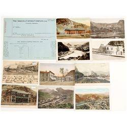 Clifton, AZ Postcards & Copper Mine Paycheck