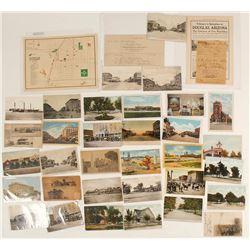 Douglas, AZ Postcard Collection and Ephemera
