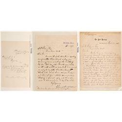 Three Territorial Arizona Fort Letters