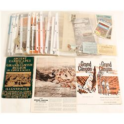 Grand Canyon Promo Pamphlets, Booklets, Stereoview, Maps