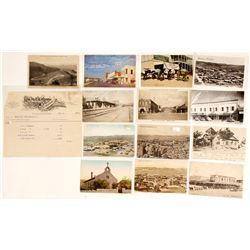 Kingman Postcards (13) and a Billhead