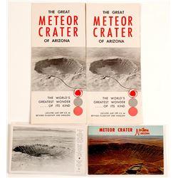 Meteor Crater, AZ Ephemera