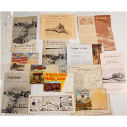 Petrified Forest Postcards and Booklets