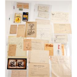 Tombstone, AZ Letters and Ephemera