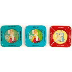 Three Cute Ash Trays