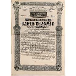 Tucson Rapid Transit Co. Bond