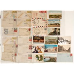 Winslow, AZ Post Card and Covers Collection