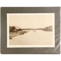 Early Photograph of the Ferry on the Colorado River