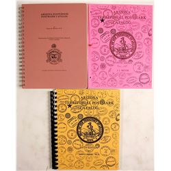 Arizona State & Territorial Postmark Catalogs (3)