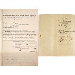 1897 Arizona Territory Lawsuit Documents