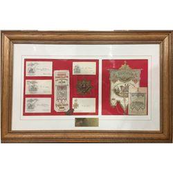 Bodie Knights Templar Framed Display
