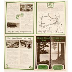 Donner Lake Camp Brochure