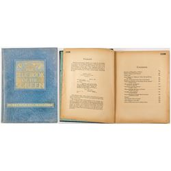 """Rare """"The Blue Book of the Screen"""" 1923"""