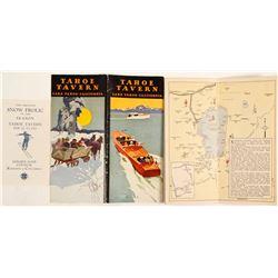 Four Tahoe Tavern Brochures