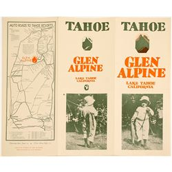 Glen Alpine Auto Tour Brochure (Lake Tahoe)
