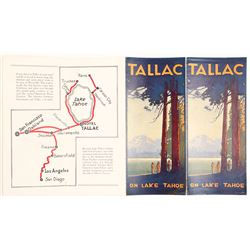 Tallac Brochure