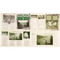 Very Rare 'Emerald Bay Camp' Brochures