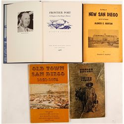 San Diego History Books (4)