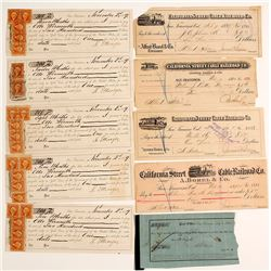 Early San Francisco Checks & Receipts