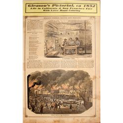 Pictorial of Great Fire of San Francisco