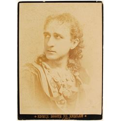 Edwin Booth as Hamlet Cabinet Card