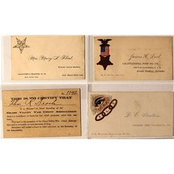 California Motherlode Fraternal Calling Cards