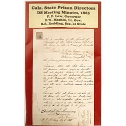 California State Prison Directors Meeting Minutes