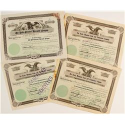 Rocky Mountain Grain & Commission Co. Stock Certificates Plus One Other CO Stock