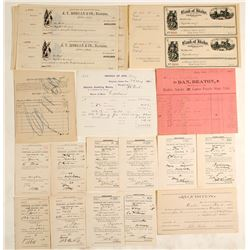 Idaho Territory Ephemera Collection