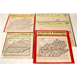 Kentucky and Tennessee Maps (5)