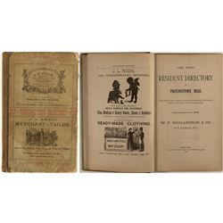 First Resident Directory of Provincetown, Massachusetts (1886)
