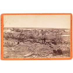 Photograph of Sauk Rapids Cyclone Wreckage - Killing 72!