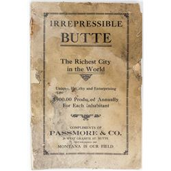 Irrepressible Butte Booklet