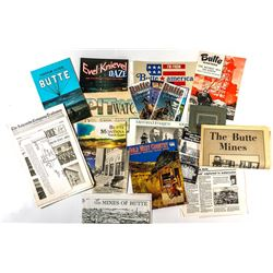 Butte Montana Promo Items
