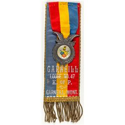 Medal/Ribbon Garneill Lodge, No. 47 (Garneill, Montana)