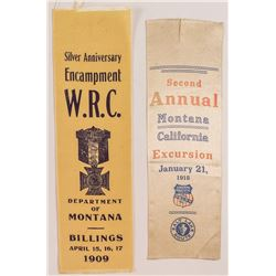 Two Montana Ribbons