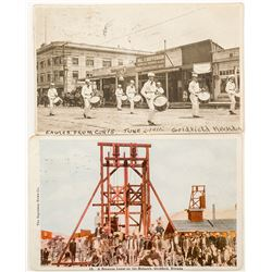 Two Goldfield Postcards