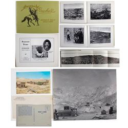 Rawhide Ephemera Group (Booklet, Postcard, Photographs)